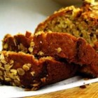 Brown Sugar Banana Nut Bread I - Deliciously sweet banana bread with plenty of vanilla flavor.