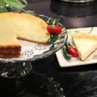 Jalapeno Lime Cheesecake - Lime-flavored cheesecake is given a little extra flavor with the addition of fresh jalapeno pepper. Sweet with a hint of heat at the end. Yum!