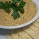 Hummus from Scratch - Garbanzo beans and soybeans are cooked until tender in a pressure cooker, then mixed with tahini and other flavors. Stovetop cooking instructions are included as well.