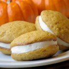 Pumpkin Whoopie Pies - Pumpkin whoopie pies with a simple, sweet filling make a perfect treat everyone is sure to love.