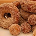 Cake Doughnuts - Simple cake doughnuts you can make fresh in your own home. Spiced with cinnamon and nutmeg, you could even make the dough the night before!