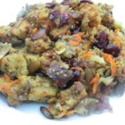 Happy Hippy Stuffing - This recipe is a perfect alternative for the vegetarians amongst us, or just for something different. All my friends, even the meat eaters, love it!