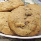 Zucchini Cookies - Spicy drop cookies with a soft moist texture that are made with zucchini and raisins.