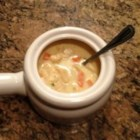 Creamy Chicken Noodle Soup - This simple recipe will help you make homemade creamy chicken noodle soup in a flash.