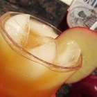 Bobbing for Apples - Southern Comfort and apple cider make a tasty fall drink that calms the nerves.