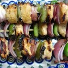 Chicken Kabobs - Place chicken and colorful veggies on skewers, grill, and enjoy! This is a quick way to enjoy a delicious barbequed meal.
