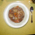 Beer Beef Stew II - Traditional beef stew with a twist of beer, chili sauce, and brown sugar.