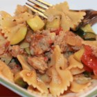 Pasta Primavera with Italian Turkey