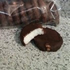 Chocolate Covered Peppermint Patties - These cool peppermint patties are made with mashed potatoes.