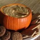 Pumpkin Dip - Dip ginger snaps in this creamy pumpkin dip for a memorable holiday treat!