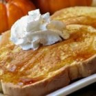 Pumpkin Pie French Toast - Pumpkin pie lovers rejoice! Now you can have your pie for breakfast.