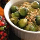 Baked Brussels Sprouts - A very simple and tasty way to serve Brussels sprouts.  Everyone asks for seconds when I serve these!  Even the kids!