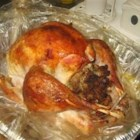Turkey in a Bag - This is a very easy way to make a Thanksgiving turkey using an oven bag. The bird will be perfectly moist when done, and you can make gravy out of the juice that forms in the bottom of the bag. Plus, cleanup is a snap! The cooking time will vary for different sized turkeys.