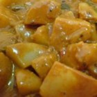 Delightful Indian Coconut Vegetarian Curry in the Slow Cooker