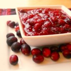 Cranberry Sauce - This basic homemade cranberry sauce is the perfect topping for Thanksgiving turkey.