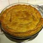 Grandma's Leftover Turkey Pot Pie