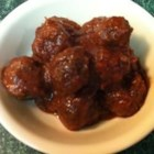 Cranberry Meatballs - These are wonderful vegetarian meatballs with a sweet and sour sauce.  They're simple to make and they disappear very quickly.  Make these for Christmas holiday parties. If you don't have veggie burger patties, you may use TVP, textured vegetable protein, that's available at most health food stores.