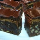 Scrumptious Frosted Fudgy Brownies - These rich, fudgy brownies are topped with a smooth and creamy chocolate frosting.