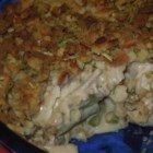 Leftover Turkey Casserole - This is a great way to use up some of those Thanksgiving leftovers! It's easy to prepare, as well. Top it with gravy, and revisit the feast!