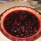 Cranberry Sauce with Bourbon