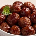 Bavarian Style Meatballs - Use ready-made meatballs -and some sweet-and-sour ingredients -to get the tangy, slow-cooked taste on this toothpick treat.