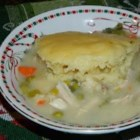 Southern Chicken and Dumplings - Old fashioned stick to your ribs chicken and dumplings recipe.  The secret is using bone in chicken to make your stock. The bones help flavor the stock and give it richness.