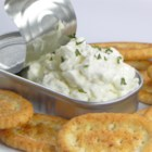 Addicting Chip Dip - This creamy dip, perfect for chips or crudite, relies on anchovy paste and onion for its fine flavor.