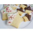 Shortbread Cookies II - Use this recipe for buttery shortbread dough to make press cookies.