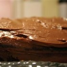 Chocolate Frosting II - A fudgey frosting that is cooked on the stovetop. add milk until desired spreading consistency is achieved.