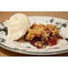 Apple-Cranberry Crisp - A wonderful combination of apples and fresh cranberries with a crisp, pecan topping.