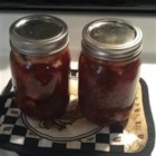 Cranberry Chutney III - A sweet chutney, perfect for Thanksgiving and Christmas. It's delicious on meats.