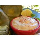 Creamy Chili Sauce - This sauce is great for dipping fried onions. It's just like the one served in restaurants. The cayenne adds an exciting bite to the cool, creaminess. Try it with tortilla chips, too.