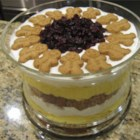 Eggnog Gingerbread Trifle - This gorgeous trifle combines two of the holiday's best flavors - eggnog and gingerbread.