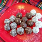 Steph's Bourbon Balls - Something between a truffle and a no-bake cookie, these are fun for grownups at Christmas (they have a kick) or to celebrate the Run for the Roses.