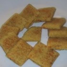 Crackle Thins - These are very tasty little crackers that use cornmeal and resemble homemade tortilla chips. If desired, top them with coarse salt, chili powder, cumin or garlic powder before baking.
