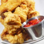 Beer Batter - As long as there is a beer in the house this is a quick and easy recipe without any fancy ingredients. You can find all the ingredients in a standard kitchen!  This batter is great for deep frying white fish. Fresh lake perch and walleye are especially tasty in this beer batter.