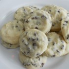 Tina's Shortbread Chocolate Chip Cookies - This cookie is incredible.  It's so rich and tasty.  I cannot tell how many times I get asked for this recipe.  Everyone loves it and it's easy to make.  These keep very well.  You can make dough ahead time and freeze it.  Defrost when ready to use and follow baking instructions.  Great cookie for the holidays.