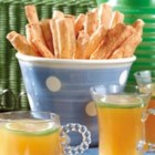Cheese Straws - These light, dry sticks of bread, rich with Cheddar and a bit of cayenne, make wonderful appetizers.