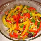 Roasted Peppers with Pine Nuts and Parsley