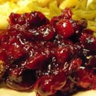 Cranberry Sauce II - This cranberry sauce is great -- it's tasty and incredibly simple to make!