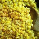 Sauteed Curried Corn - This simple, spicy side dish goes great with most any American-style chicken, fish or meat. It's also a fantastic mixture to wrap up in your fajitas.