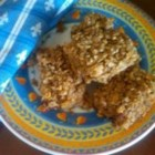 Almond and Soy Nut Power Bars - Roasted soy nuts, almonds, and walnuts combine with flax seed in these tasty, home made bars.