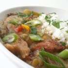 Dupre Family Chicken and Sausage Gumbo - A big, complex Cajun soup with lots of steps and lots of flavor features seasoned, marinated chicken and smoked sausage. A handcrafted roux ties it all together.