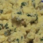 Garlic-Cilantro Scrambled Eggs - A blend of garlic and cilantro with scrambled eggs. A refreshing way to start your day.