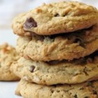 Outrageous Chocolate Chip Cookies - A great combination of chocolate chips, oatmeal, and peanut butter.