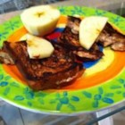 Dulce de Leche Grilled Cheese Sandwiches - An easy and sweet variation of a grilled cheese sandwich combines cream cheese sweetened with dulce de leche (milk caramel spread) and apples, grilled on cinnamon raisin bread. Have it for breakfast, tote it for your lunch, or give it to your kids when you need a quick meal or snack.