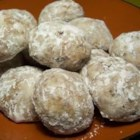 Snowy Pecan Cookies - You will need to refrigerate the dough for these cookies overnight.