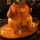 Baked Beer Can Chicken - Bake a juicy and flavorful chicken every time with this family-favorite recipe for beer can chicken.