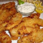 Panko-Breaded Fried Razor Clams - Pan-fried razor clams in a crunchy crust make a tasty shellfish appetizer when breaded with coarse Japanese panko bread crumbs. Allow enough additional time before cooking to freeze breaded clams so the coating sticks well.