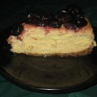 Amaretto Cheesecake III - A very yummy cheesecake made with amaretto. Serve topped with fresh berries.